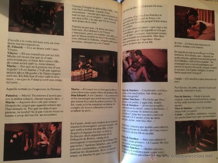 Libros de segunda mano: Antiguo libro Vicòria la gran aventura de un poble un film d'Antoni Ríbas, años 80 - Foto 4 - 52315683