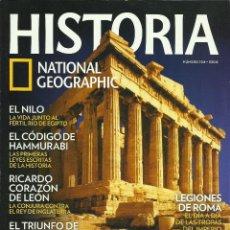 Libros de segunda mano: REVISTA ''NATIONAL GEOGRAPHIC - HISTORIA'' NUM. 104. Lote 52521710