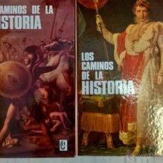 Libros de segunda mano: LOS CAMINOS DE LA HISTORIA DOS TOMOS COLECCIÓN FHER JUNIOR. Lote 52626508