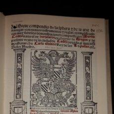 Libros de segunda mano: BREVE COMPENDIO DE LA SPHERA Y DE LA ARTE DE NAVEGAR. VICENT GARCÍA EDITORES. Lote 52637228