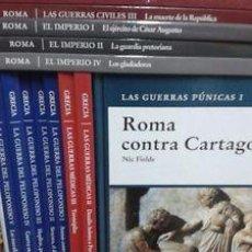 Libros de segunda mano: OSPREY GRECIA, ROMA Y FUERZAS DE ELITE. HISLIBRIS. COLECCIÓN COMPLETA. 45 TÍTULOS. Lote 52710724