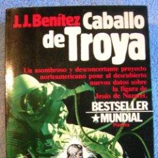 Libros de segunda mano: CABALLO DE TROYA - J. J. BENITEZ. EDIT. PLANETA EN 1984.. Lote 211724100