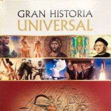 Libros de segunda mano: GRAN HISTORIA UNIVERSAL. VOL 3. EGIPTO Y LOS GRANDES IMPERIOS. Lote 53197752