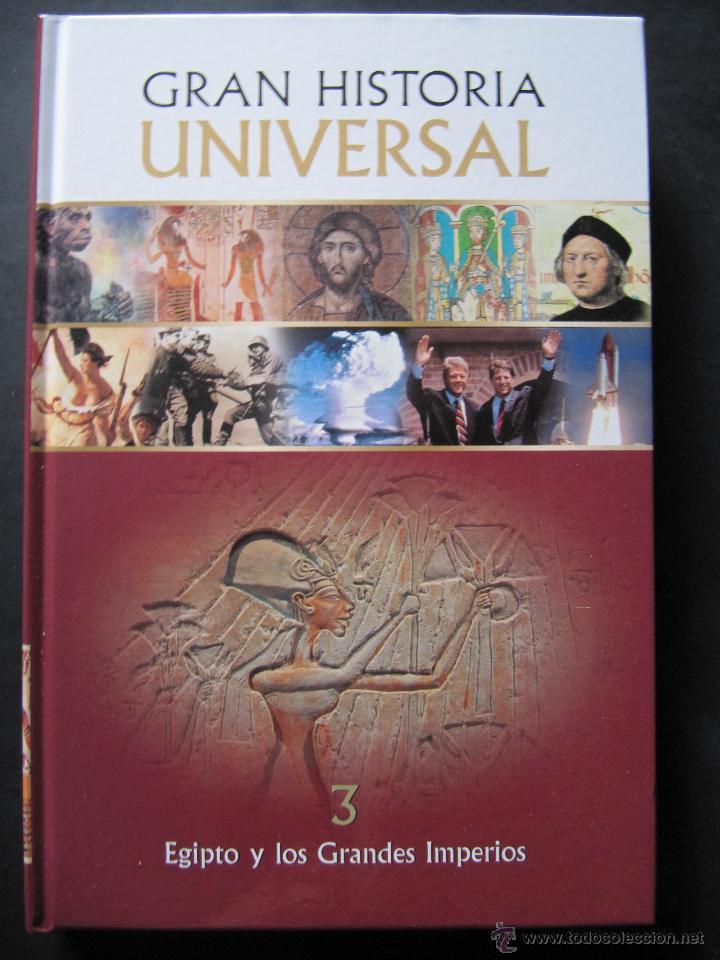 Libro gran historia universal. vol 3 egipto y l - Vendido