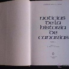 Libros de segunda mano: HISTORIA DE CANARIAS - VIERA Y CLAVIJO - TOMO 2. Lote 53759458