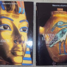Libros de segunda mano: BIBLIOTECA EGIPTO: TUTANKAMON Y LA VIDA EN EL ANTIGUO EGIPTO, EDIT FOLIO 2005. Lote 54375295