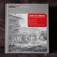 Libros de segunda mano: CIUDADES EN GUERRA 1808-1814. LEÓN EN LA GUERRA DE LA INDEPENDENCIA.. Lote 54474511