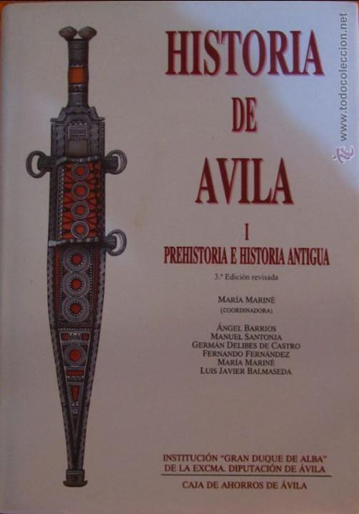 HISTORIA DE AVILA I PREHISTORIA E HISTORIA ANTIGUA 3 EDICION REVISADA MARIA MARINÉ (COORDINADORA) (Libros de Segunda Mano - Historia Antigua)