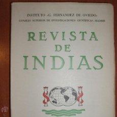 Libros de segunda mano: REVISTA DE INDIAS. AÑO 1969 COMPLETO. SUMARIO FOTOGRAFIADO.. Lote 54572384