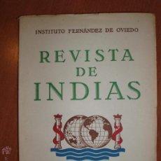 Libros de segunda mano: REVISTA DE INDIAS. AÑO 1954. SUMARIO FOTOGRAFIADO.. Lote 54572569