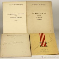 Libros de segunda mano: 7229 - LOTE DE 4 EJEMPLARES AYUNTAMIENTO DE BARCELONA(VER DESCRIP). 1959-1978.. Lote 54494169