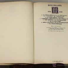 Libros de segunda mano - 7178 - DOCUMENTS 1931-1939. TOMOS 1 Y 2(VER DESCRIP). ANNA SALLÉS. EDI. 62. 1976-1977. - 53765084
