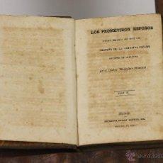 Libros de segunda mano: LP-195 - LOS PROMETIDOS ESPOSOS. TOMO III. ALEJANDRO MANZONI. IMP.G. GIL. S/F.. Lote 54091440
