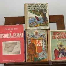 Libros de segunda mano - 7276 - HISTORIA DE ESPAÑA. 4 EJEM. VV. AA(VER DESCRIP). VV. EDI. 1946-1947. - 54939953