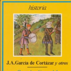 Libros de segunda mano: J. A. GARCIA DE CORTAZAR, ORGANIZACIÓN SOCIAL DEL ESPACIO EN LA ESPAÑA MEDIEVAL. LA CORONA DE CAST. Lote 55141951