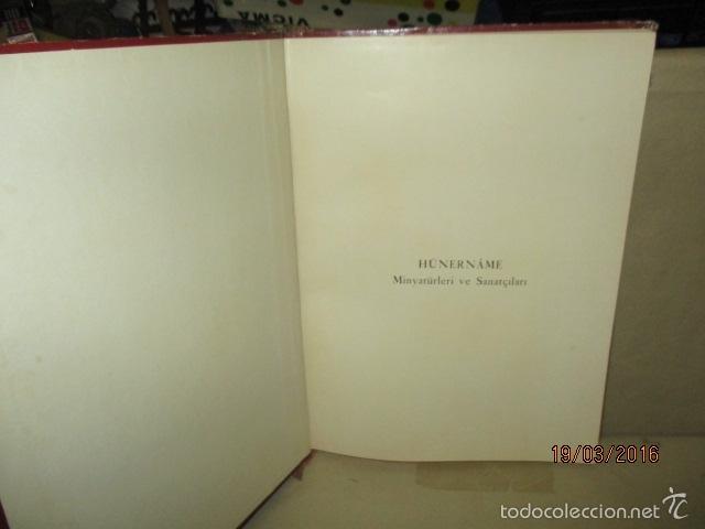 Libros de segunda mano: Espectacular libro de la historia de los Sultanes de 47 cm x 33,5 cm. (en turco - ver fotos) 1969 - Foto 10 - 55226079