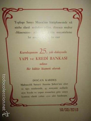 Libros de segunda mano: Espectacular libro de la historia de los Sultanes de 47 cm x 33,5 cm. (en turco - ver fotos) 1969 - Foto 11 - 55226079