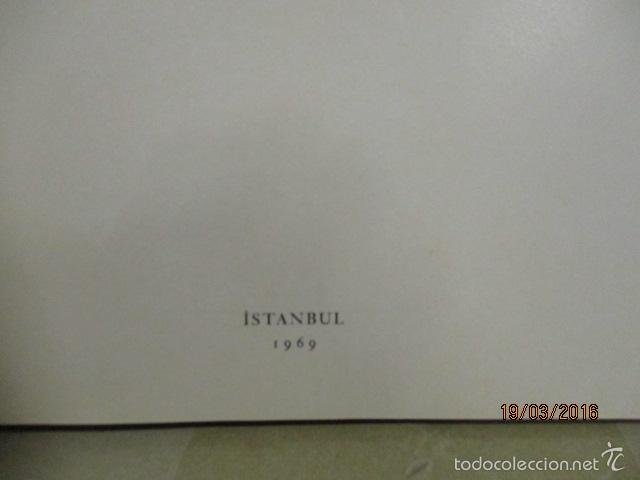 Libros de segunda mano: Espectacular libro de la historia de los Sultanes de 47 cm x 33,5 cm. (en turco - ver fotos) 1969 - Foto 15 - 55226079