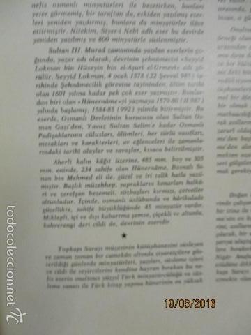 Libros de segunda mano: Espectacular libro de la historia de los Sultanes de 47 cm x 33,5 cm. (en turco - ver fotos) 1969 - Foto 16 - 55226079