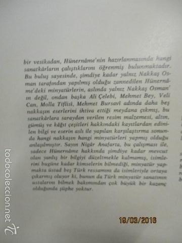 Libros de segunda mano: Espectacular libro de la historia de los Sultanes de 47 cm x 33,5 cm. (en turco - ver fotos) 1969 - Foto 18 - 55226079