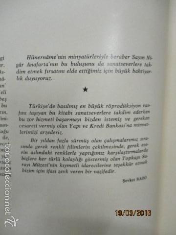 Libros de segunda mano: Espectacular libro de la historia de los Sultanes de 47 cm x 33,5 cm. (en turco - ver fotos) 1969 - Foto 19 - 55226079