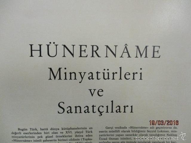 Libros de segunda mano: Espectacular libro de la historia de los Sultanes de 47 cm x 33,5 cm. (en turco - ver fotos) 1969 - Foto 20 - 55226079