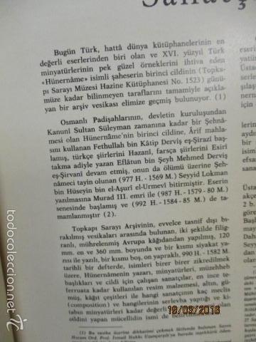 Libros de segunda mano: Espectacular libro de la historia de los Sultanes de 47 cm x 33,5 cm. (en turco - ver fotos) 1969 - Foto 21 - 55226079