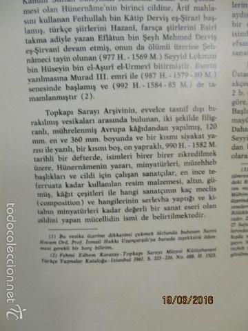 Libros de segunda mano: Espectacular libro de la historia de los Sultanes de 47 cm x 33,5 cm. (en turco - ver fotos) 1969 - Foto 22 - 55226079