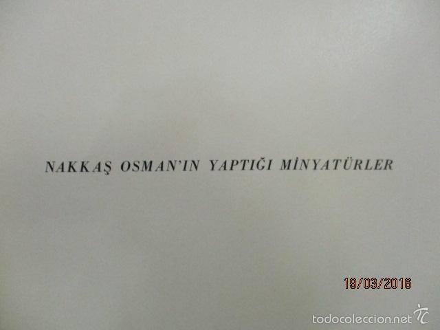 Libros de segunda mano: Espectacular libro de la historia de los Sultanes de 47 cm x 33,5 cm. (en turco - ver fotos) 1969 - Foto 28 - 55226079