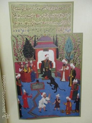 Libros de segunda mano: Espectacular libro de la historia de los Sultanes de 47 cm x 33,5 cm. (en turco - ver fotos) 1969 - Foto 29 - 55226079