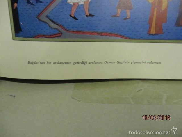 Libros de segunda mano: Espectacular libro de la historia de los Sultanes de 47 cm x 33,5 cm. (en turco - ver fotos) 1969 - Foto 30 - 55226079