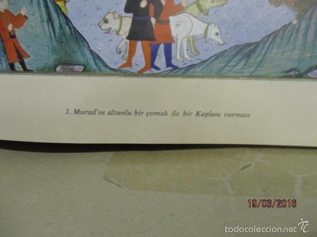 Libros de segunda mano: Espectacular libro de la historia de los Sultanes de 47 cm x 33,5 cm. (en turco - ver fotos) 1969 - Foto 32 - 55226079