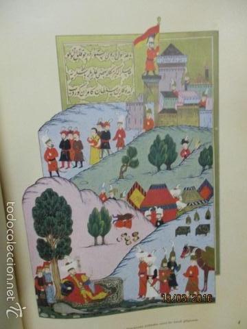 Libros de segunda mano: Espectacular libro de la historia de los Sultanes de 47 cm x 33,5 cm. (en turco - ver fotos) 1969 - Foto 35 - 55226079