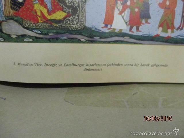 Libros de segunda mano: Espectacular libro de la historia de los Sultanes de 47 cm x 33,5 cm. (en turco - ver fotos) 1969 - Foto 36 - 55226079