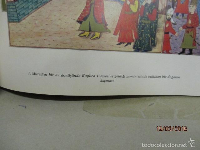 Libros de segunda mano: Espectacular libro de la historia de los Sultanes de 47 cm x 33,5 cm. (en turco - ver fotos) 1969 - Foto 38 - 55226079