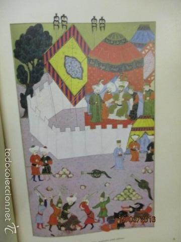 Libros de segunda mano: Espectacular libro de la historia de los Sultanes de 47 cm x 33,5 cm. (en turco - ver fotos) 1969 - Foto 39 - 55226079