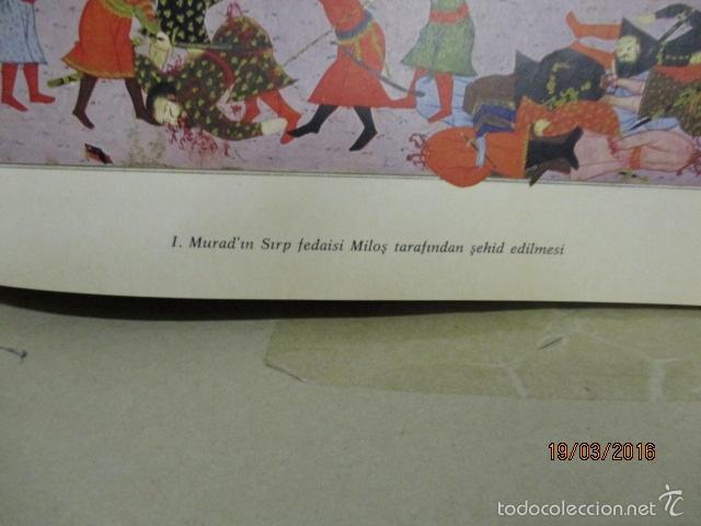 Libros de segunda mano: Espectacular libro de la historia de los Sultanes de 47 cm x 33,5 cm. (en turco - ver fotos) 1969 - Foto 40 - 55226079