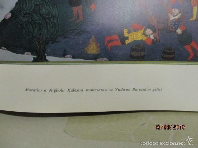 Libros de segunda mano: Espectacular libro de la historia de los Sultanes de 47 cm x 33,5 cm. (en turco - ver fotos) 1969 - Foto 44 - 55226079