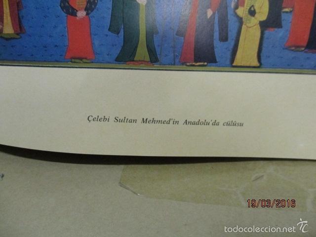 Libros de segunda mano: Espectacular libro de la historia de los Sultanes de 47 cm x 33,5 cm. (en turco - ver fotos) 1969 - Foto 46 - 55226079