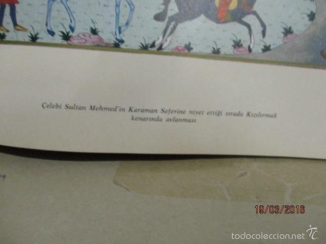 Libros de segunda mano: Espectacular libro de la historia de los Sultanes de 47 cm x 33,5 cm. (en turco - ver fotos) 1969 - Foto 48 - 55226079