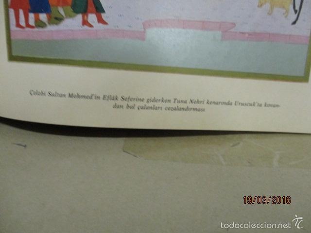Libros de segunda mano: Espectacular libro de la historia de los Sultanes de 47 cm x 33,5 cm. (en turco - ver fotos) 1969 - Foto 50 - 55226079