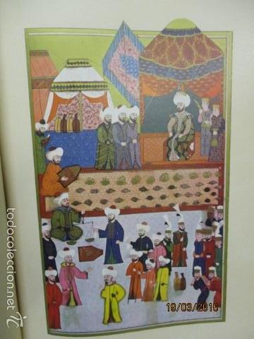 Libros de segunda mano: Espectacular libro de la historia de los Sultanes de 47 cm x 33,5 cm. (en turco - ver fotos) 1969 - Foto 51 - 55226079