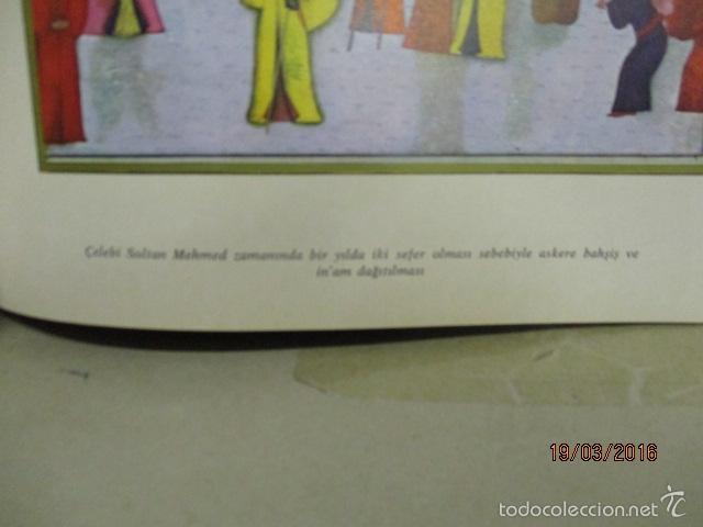 Libros de segunda mano: Espectacular libro de la historia de los Sultanes de 47 cm x 33,5 cm. (en turco - ver fotos) 1969 - Foto 52 - 55226079