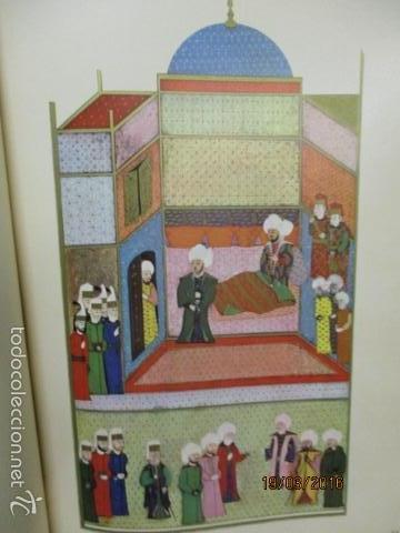Libros de segunda mano: Espectacular libro de la historia de los Sultanes de 47 cm x 33,5 cm. (en turco - ver fotos) 1969 - Foto 53 - 55226079