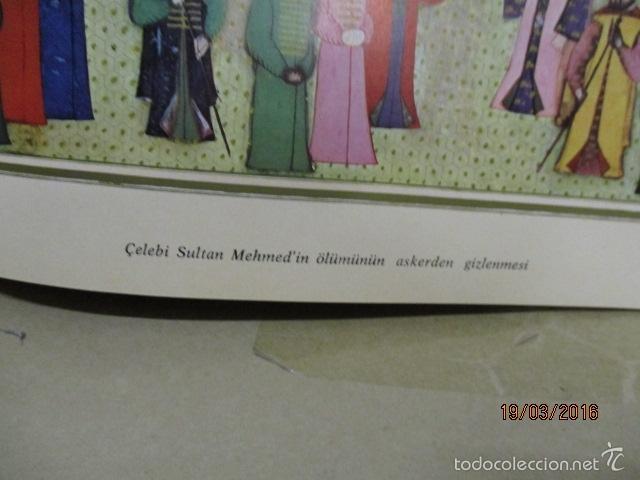 Libros de segunda mano: Espectacular libro de la historia de los Sultanes de 47 cm x 33,5 cm. (en turco - ver fotos) 1969 - Foto 54 - 55226079