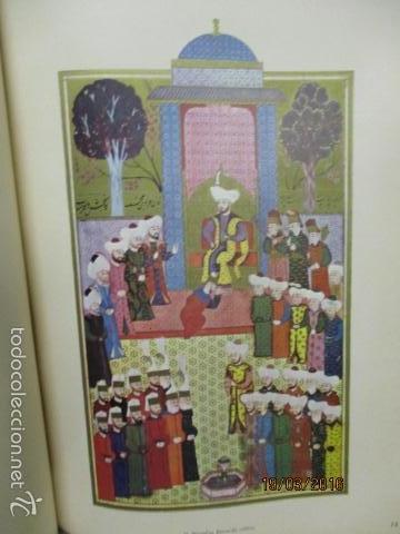 Libros de segunda mano: Espectacular libro de la historia de los Sultanes de 47 cm x 33,5 cm. (en turco - ver fotos) 1969 - Foto 55 - 55226079