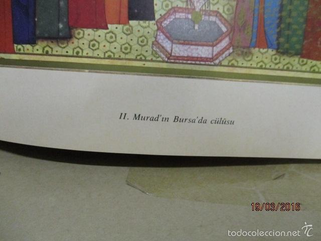 Libros de segunda mano: Espectacular libro de la historia de los Sultanes de 47 cm x 33,5 cm. (en turco - ver fotos) 1969 - Foto 56 - 55226079