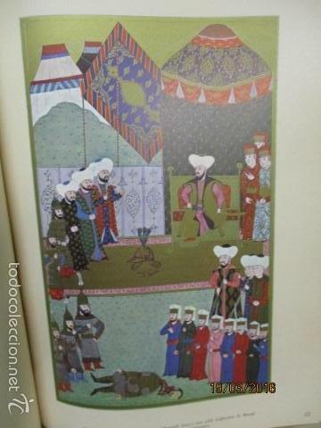 Libros de segunda mano: Espectacular libro de la historia de los Sultanes de 47 cm x 33,5 cm. (en turco - ver fotos) 1969 - Foto 57 - 55226079