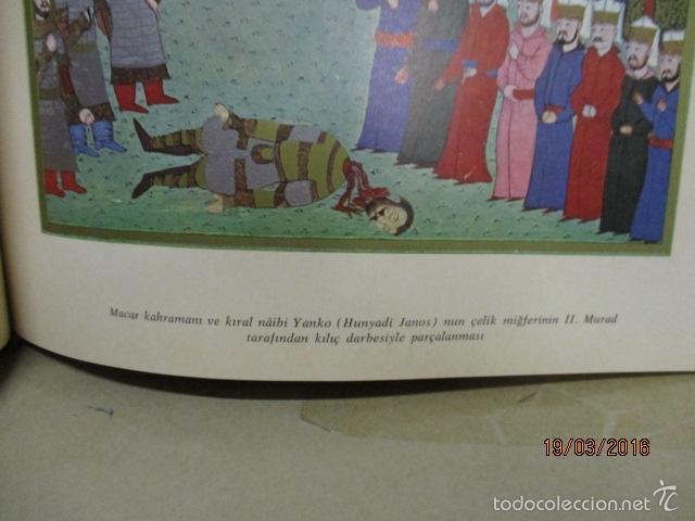 Libros de segunda mano: Espectacular libro de la historia de los Sultanes de 47 cm x 33,5 cm. (en turco - ver fotos) 1969 - Foto 58 - 55226079