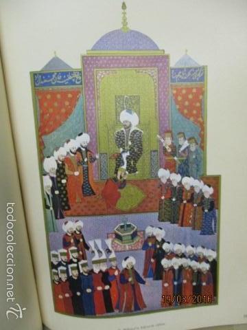 Libros de segunda mano: Espectacular libro de la historia de los Sultanes de 47 cm x 33,5 cm. (en turco - ver fotos) 1969 - Foto 59 - 55226079